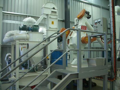 complete wood pellet plant for sale