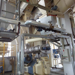 feed pellet mill process