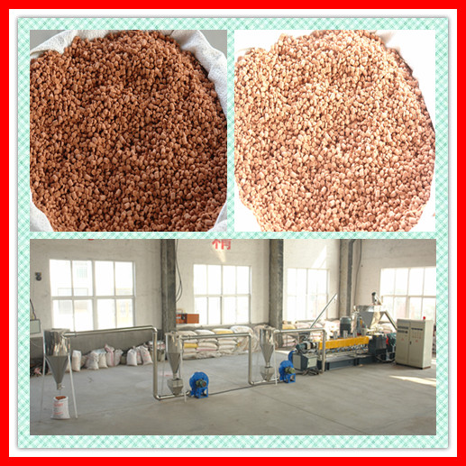 plastic pellet making machine